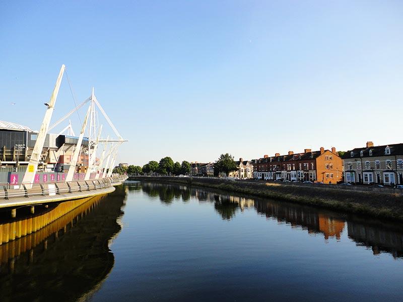 Rio Taffy, em Cardiff
