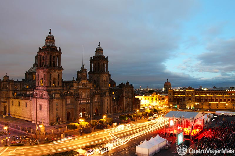 Sugestão de roteiro na Cidade do México