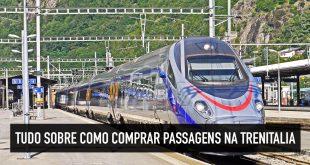 Trem na Itália: dicas de como comprar passagens na Trenitalia