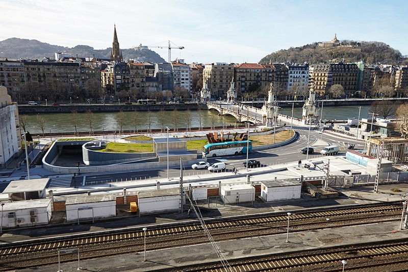 Transporte público em San Sebastián