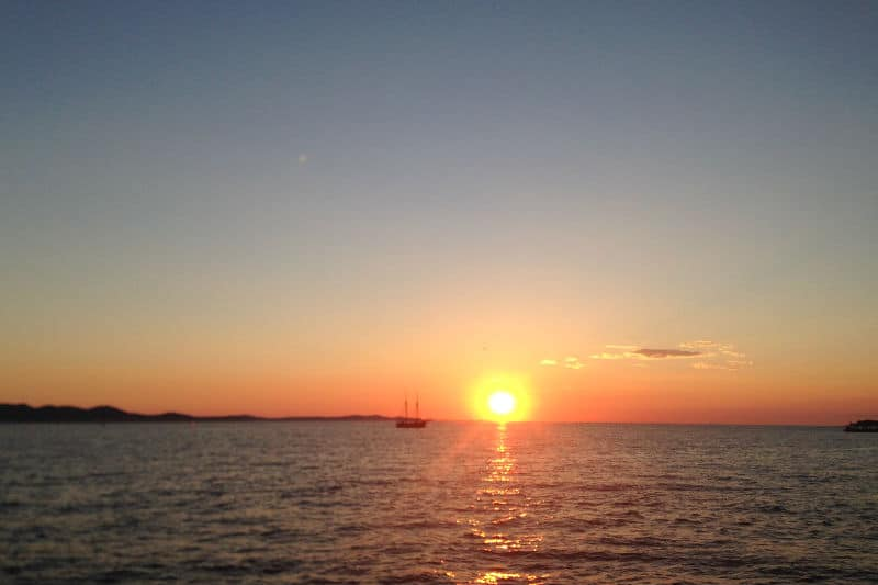 Fotos das praias e litoral da Croácia