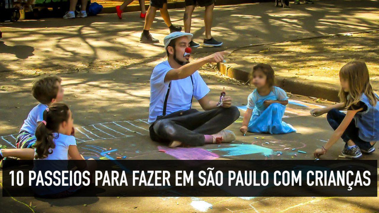 9fa2684a44a1 Passeio infantil: 10 dicas sobre o que fazer em São Paulo com crianças