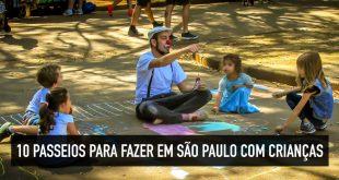 Dicas sobre o que fazer em São Paulo com crianças