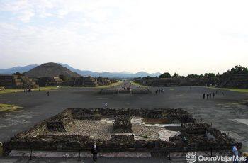 Calçada dos Mortos: Pontos turísticos da Cidade do México