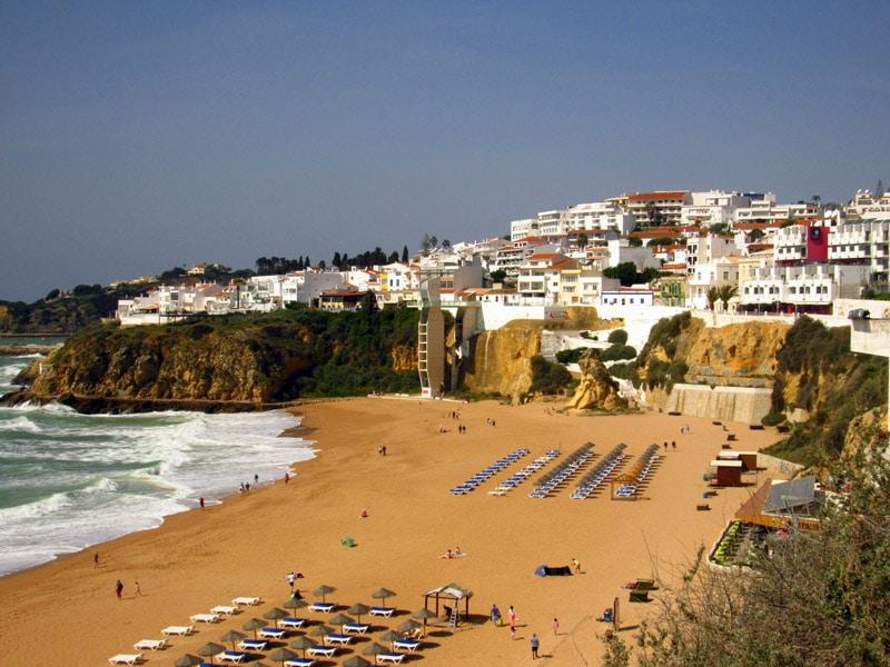 Praia para visitar no Algarve