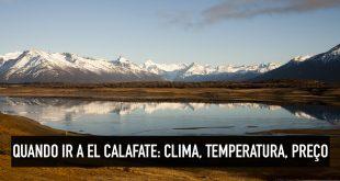 Clima e temperatura em El Calafate