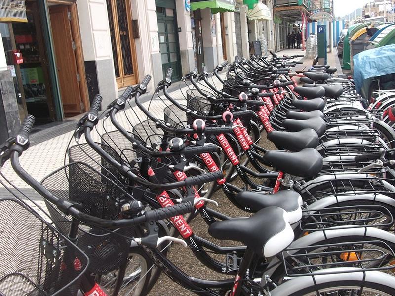 Como alugar bicicleta na Espanha / San Sebastián