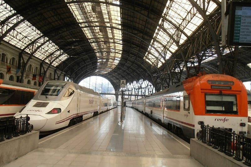 Viajar de trem na Espanha