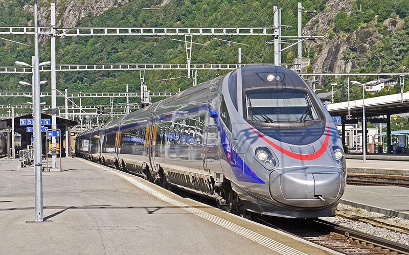 Viajar de trem na Itália
