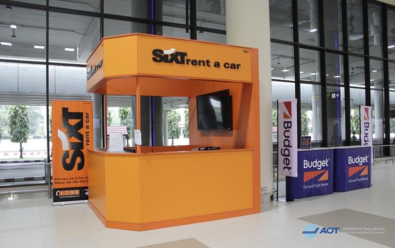 Como alugar um carro no aeroporto de Bangkok