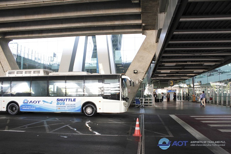 Ônibus entre aeroportos em Bangkok