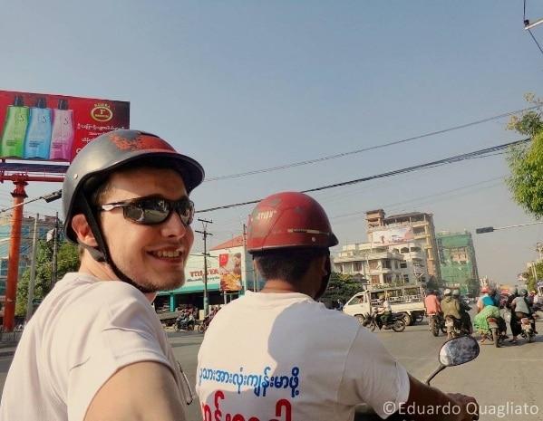 Como se locomover em Myanmar