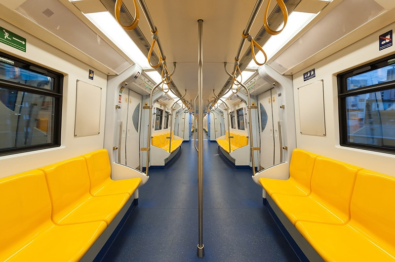 Como funciona o metrô em Bangkok