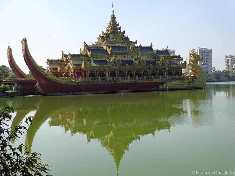 Locais para visitar em Myanmar