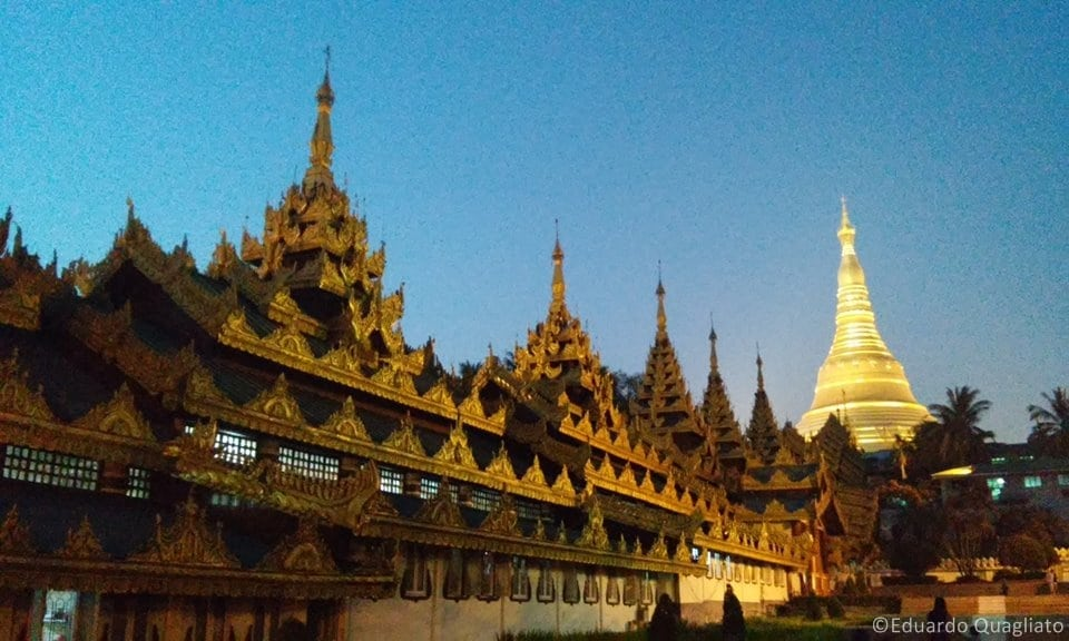 Principais pontos turísticos em Myanmar