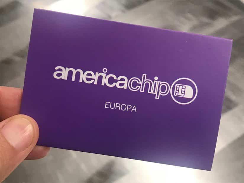 America Chip na Europa