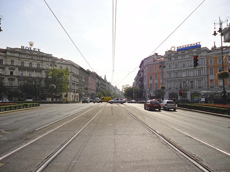 pontos turísticos de Budapeste avenida andrassy