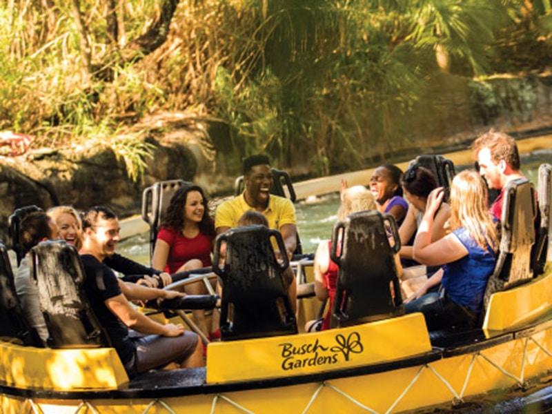 Brinquedos do Busch Gardens