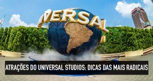 Melhores atrações radiciais do Universal Studios