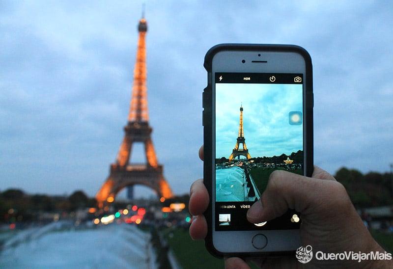 Chip de celular na Europa