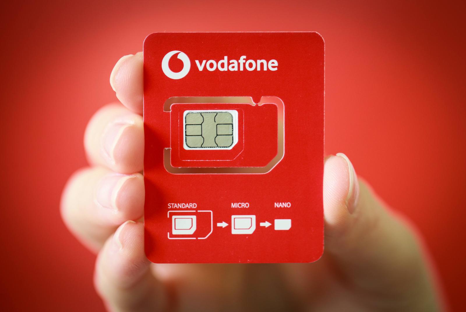 Chip Vodafone Europa