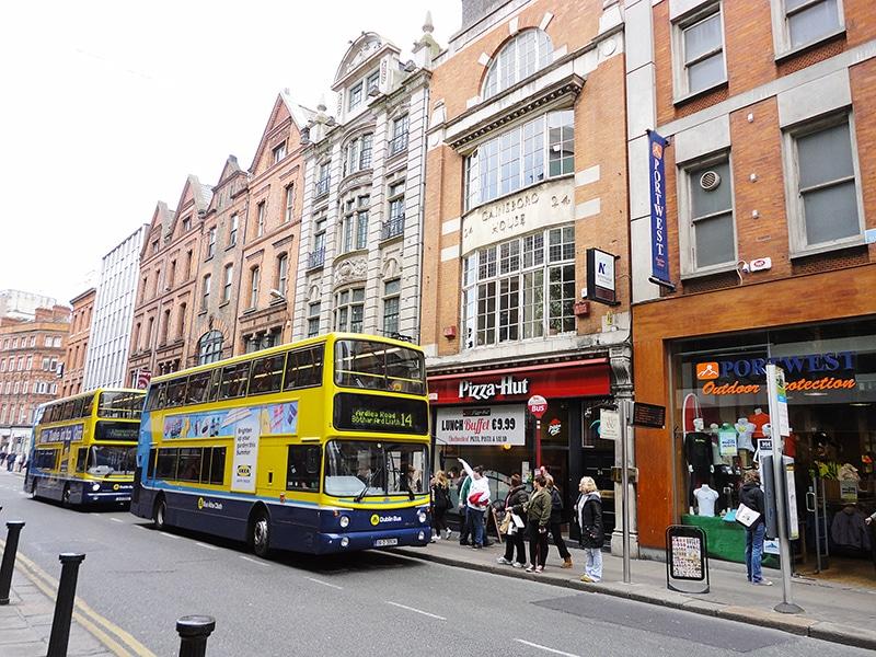 Como funciona o transporte público em Dublin
