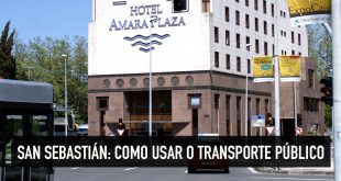 Transporte público e como se locomover em San Sebastián