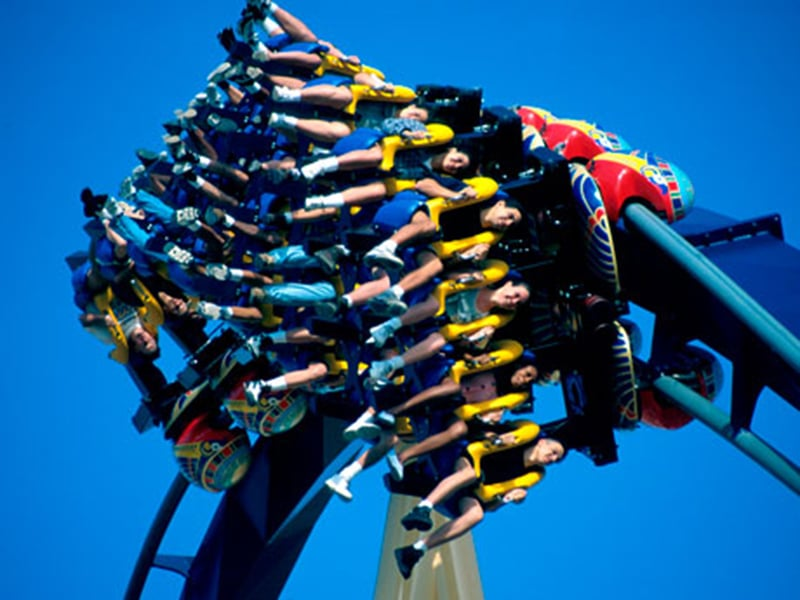Montanhas-russas de Busch Gardens