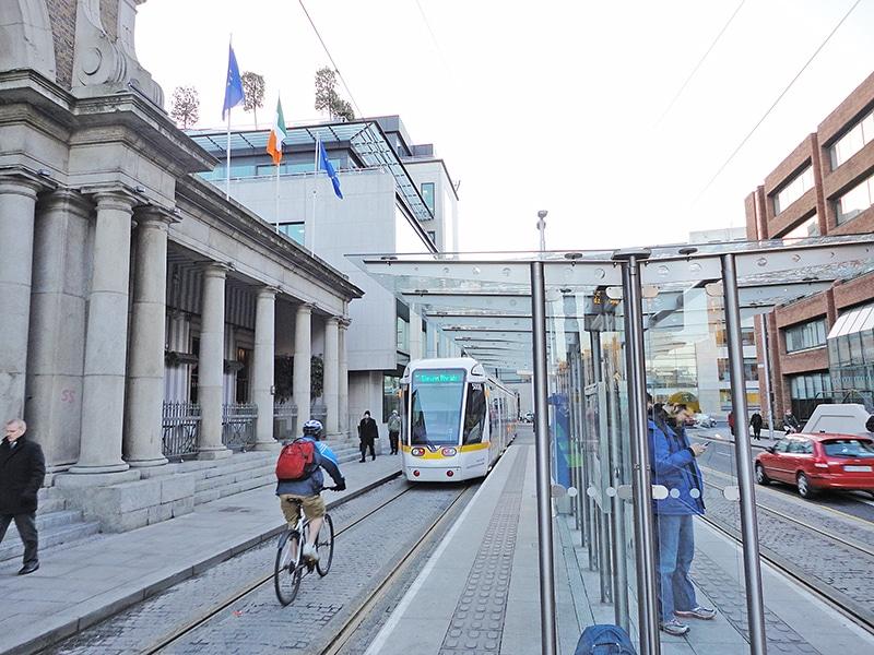 Como funciona o metrô em Dublin