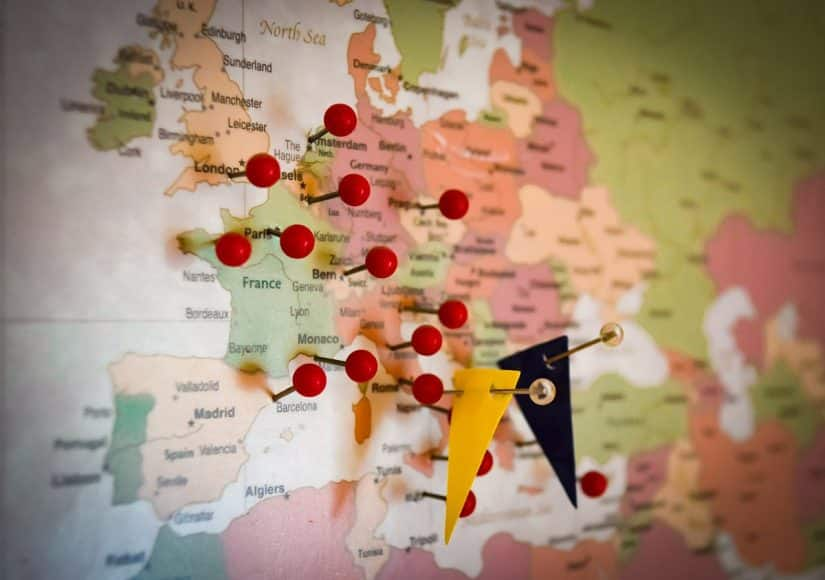 Internet nos países da Europa