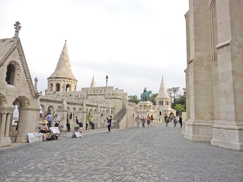 pontos turísticos de Budapeste bastião dos pescadores
