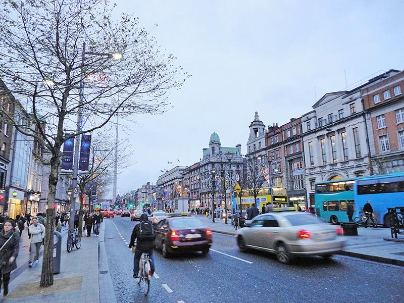 Principais meios de transporte em Dublin