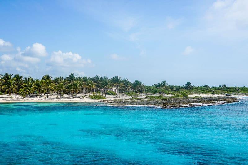 Melhores praias no México