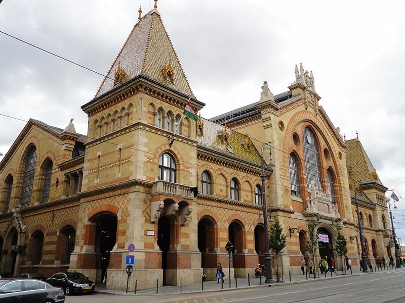 pontos turísticos de Budapeste mercado central