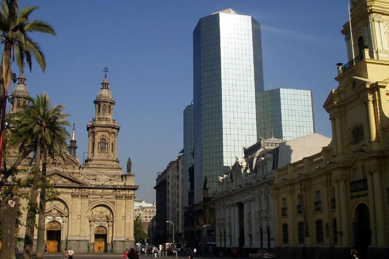 Pontos turísticos de Santiago perto do metrô