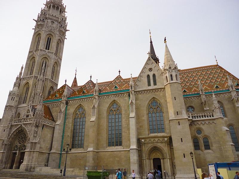pontos turísticos de Budapeste igreja mathias