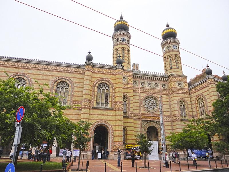 pontos turísticos de Budapeste grande sinagoga
