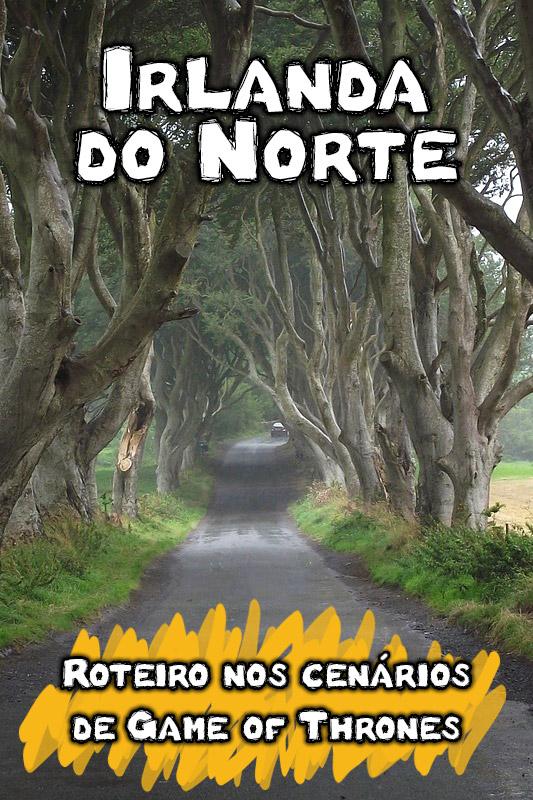 Roteiro de Game of Thrones na Irlanda do Norte
