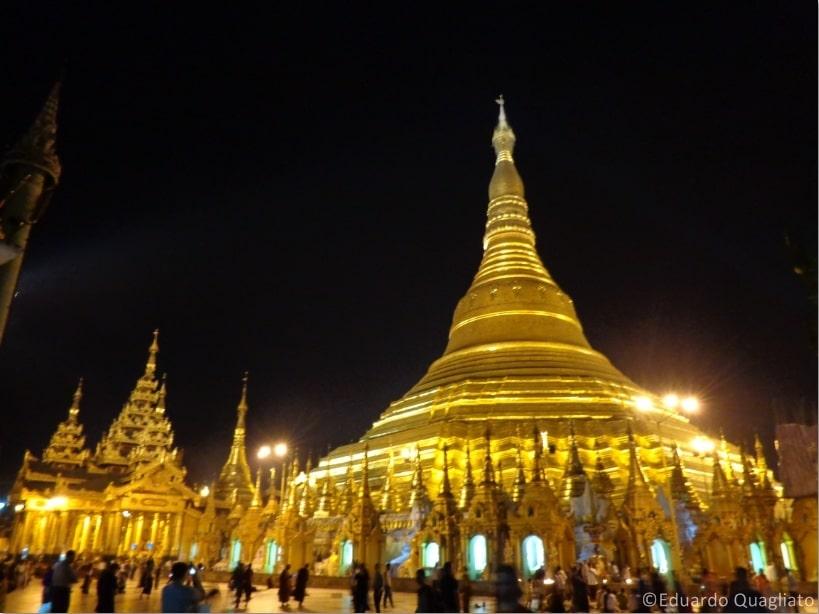 Pontos de interesse em Myanmar