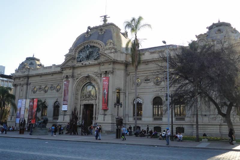 Museu Nacional de Belas Artes, Santiago, Chile
