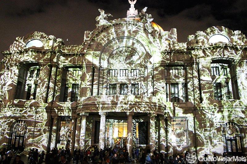 Noite na Cidade do México