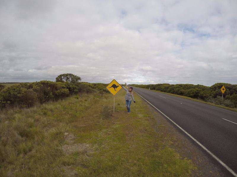 Viagem de carro na Austrália