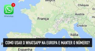 Whatsapp funciona com wifi no exterior?