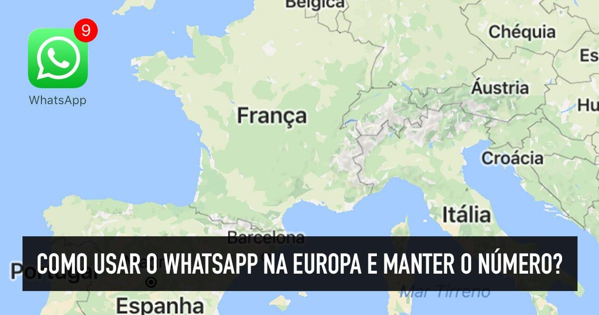 Whatsapp funciona com wifi na Europa?