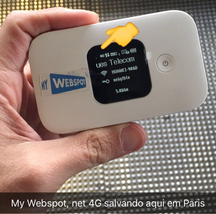 Wi-Fi portátil na Europa