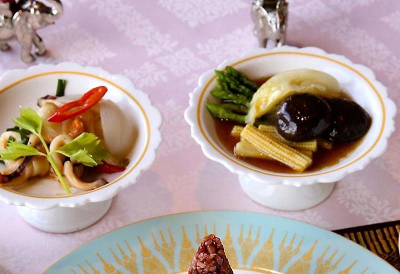 Comida boa em Bangkok