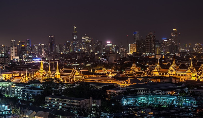 Melhores pontos turísticos de Bangkok