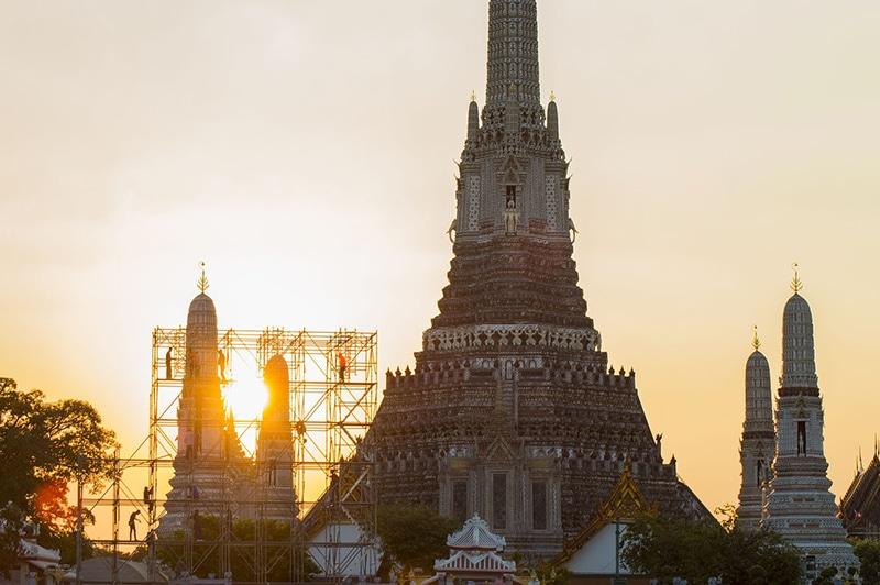 Templos mais bonitos de Bangkok