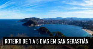 Roteiro de 2, 3, 4 e 5 dias em San Sebastián