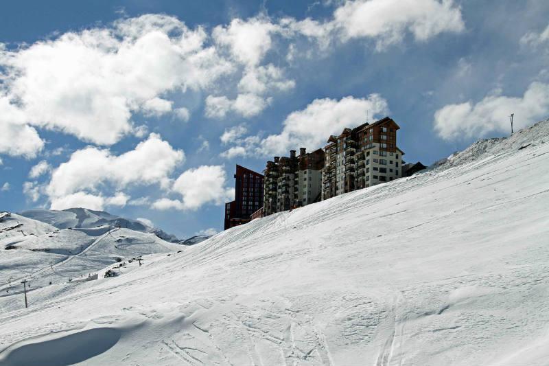 Época de neve no Chile